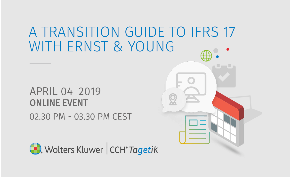 Transition Guide to IFRS17, EY - Event News | CCH Tagetik